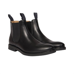 Berkeley | Chelsea Leather Boot | Herrestøvle Black